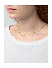 Syster P - SNAP NECKLACE LOVE GOLD - kettingen met hanger - gold - 1
