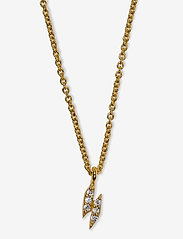 Syster P - Mini Flash Necklace Gold - kettingen  - gold - 1