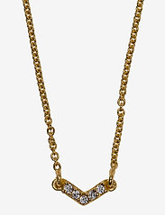 Syster P - Mini Arrow Necklace Gold - kettingen  - gold - 1