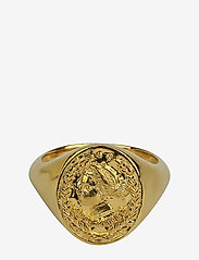 Syster P - Beaches Aphrodite Ring Gold - sormukset - gold - 0