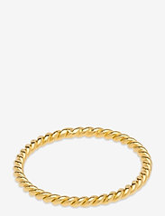 Syster P - Tiny Twisted Ring Gold - ringen - gold - 1