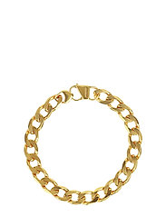 Links Curb Chain Bracelet Gold - GOLD