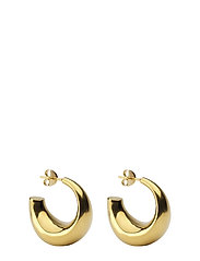 Bolded Earring Gold - GOLD