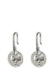 Beaches Aphrodite Earrings Silver - SILVER