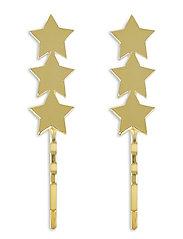 Star Bobby Pin Set Gold - GOLD