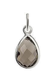 Beloved Stone Pendant Silver - SMOKEY QUARTZ