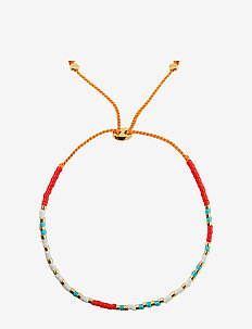 Code Bracelet Gold, I love you - dainty - gold