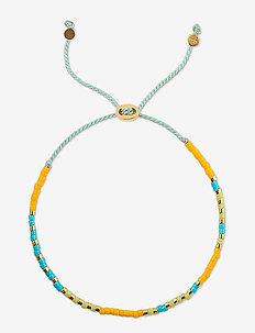 Code Bracelet Gold Ohh La La - dainty - gold
