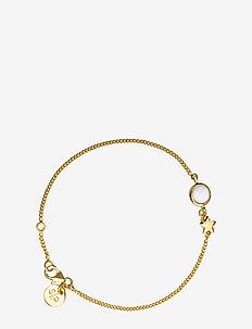 PRISCILLA BRACELET GOLD MOONSTONE - GOLD