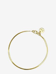 Herringbone Bracelet Gold - GOLD