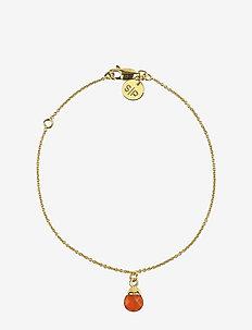 Mini Teardrop Bracelet Gold - dainty - gold