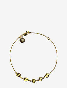 Divine Disc Bracelet Gold - dainty - gold