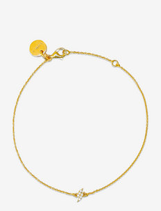 Mini Flash Bracelet Gold - dainty - gold