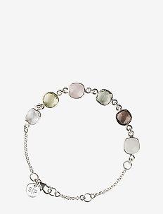 Cushion Bracelet Silver Lemon - dainty - silver