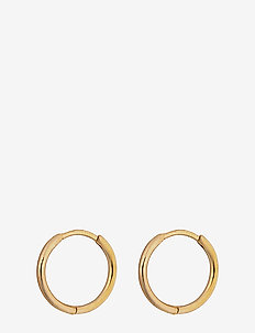Beloved Small Hoops Gold - GOLD