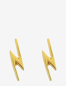 SNAP EARRINGS FLASH GOLD - GOLD