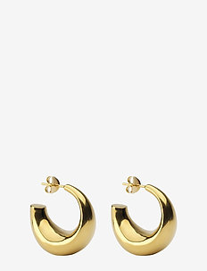 Bolded Earring Gold - GOLD