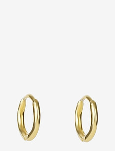 Mini Hoop Earrings Gold - creoler - gold