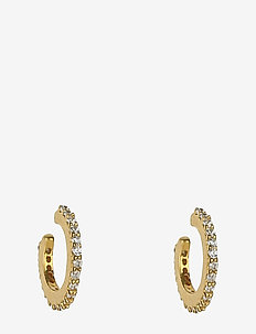 Mini Cuff Earrings Gold - GOLD