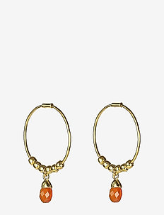 Mini Teardrop Earrings Gold - GOLD