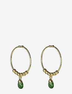 Mini Teardrop Earrings Gold - hopen - gold