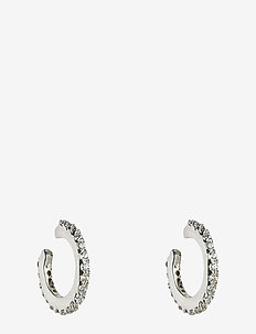 Mini Cuff Earrings Silver - SILVER