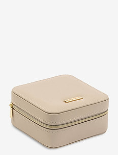 Jewelry Case Small Nude - smykkeskrin - beige