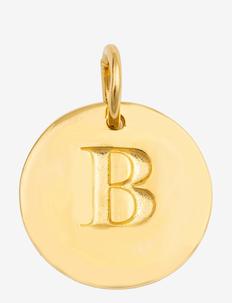BELOVED LETTER GOLD - pendants - gold
