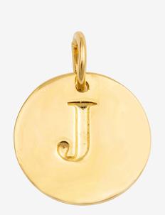 BELOVED LETTER GOLD - wisiorki - gold