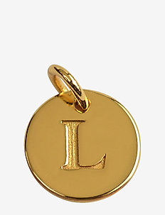 Beloved Mini Letter Gold - pendants - gold