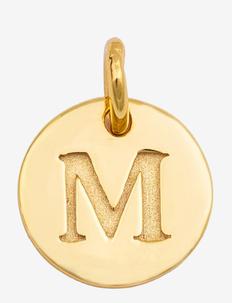 Beloved Mini Letter Gold - vedhæng - gold