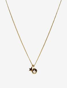 PRISCILLA NECKLACE GOLD MOONSTONE - kettingen met hanger - gold