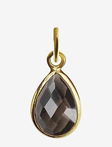 Beloved Stone Pendant Gold - wisiorki - gold