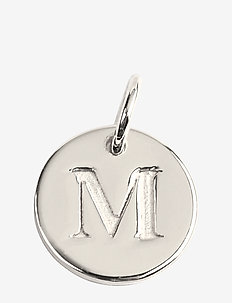 Beloved Mini Letter Silver - pendants - silver