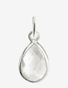 Beloved Stone Pendant Silver - vedhæng - silver