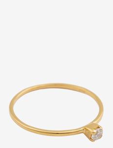 Tiny Princess Ring Gold - pierścionki - gold