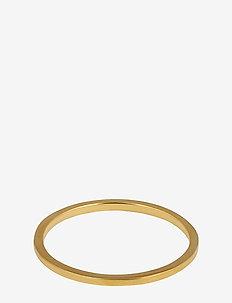 Tiny Plain Ring Gold - ringer - gold