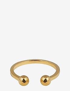 STRICT BALL RING GOLD - GOLD