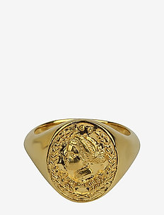 Beaches Aphrodite Ring Gold - ringar - gold