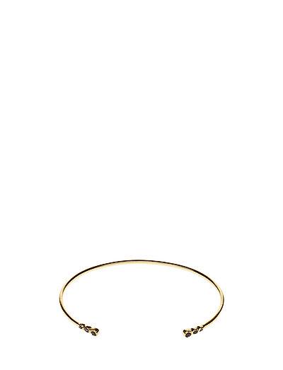 Tiny Classy Bracelet Gold Black - GOLD