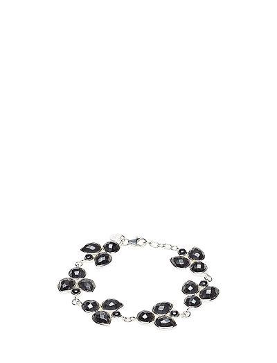 Miss Diva Bracelet Silver Hematite - SILVER