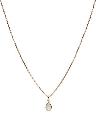 Beloved Chain Gold Moonstone - GOLD