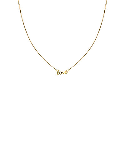 SNAP NECKLACE LOVE GOLD - GOLD