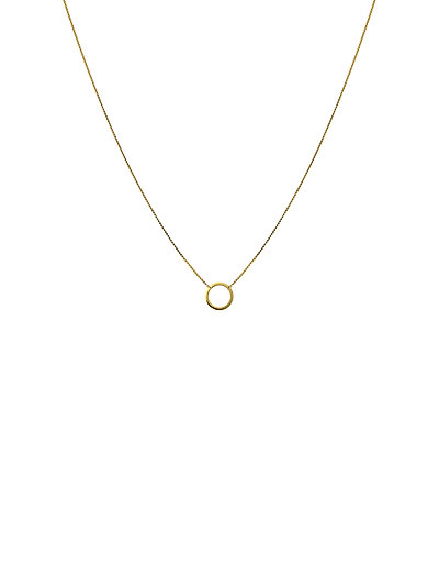 MINIMALISTICA RING NECKLACE GOLD - GOLD