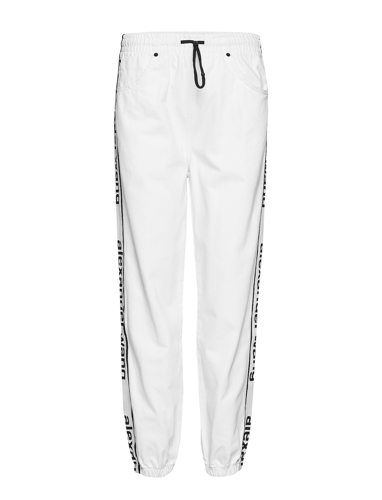 Image of Track Pant - Optic White Casual Bukser Hvid T By Alexander Wang (3113798273)