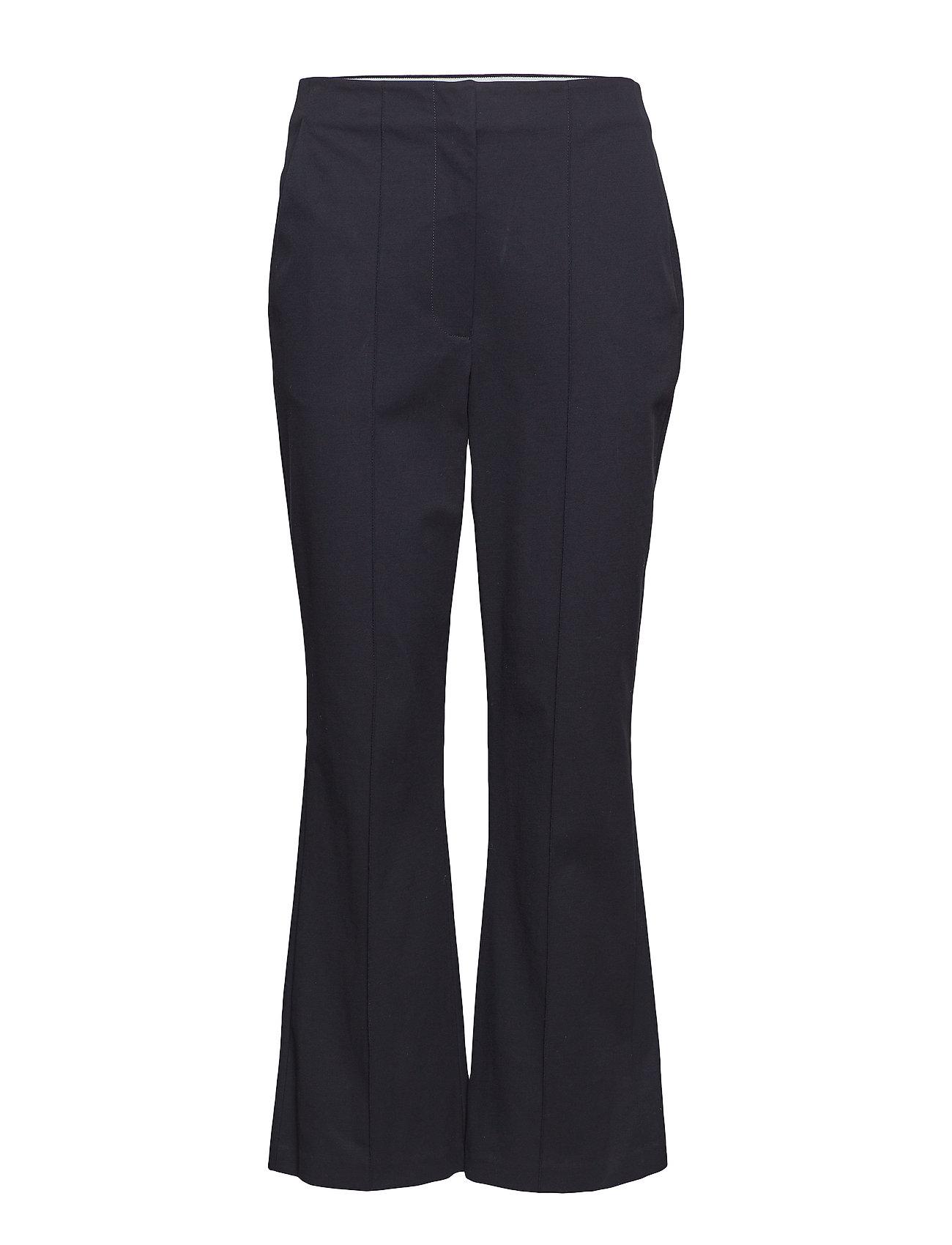 Image of Stretch Suiting Pant Withlogo Elastic Detail Bukser Med Svaj Sort T BY ALEXANDER WANG (3093081967)