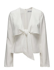 T By Alexander Wang - L/S Tie Front Shirt