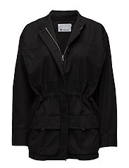 T By Alexander Wang - L/S Coat W/ Drawcord