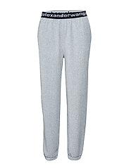 T by Alexander Wang STRETCH CORDUROY PANT - HEATHER GREY