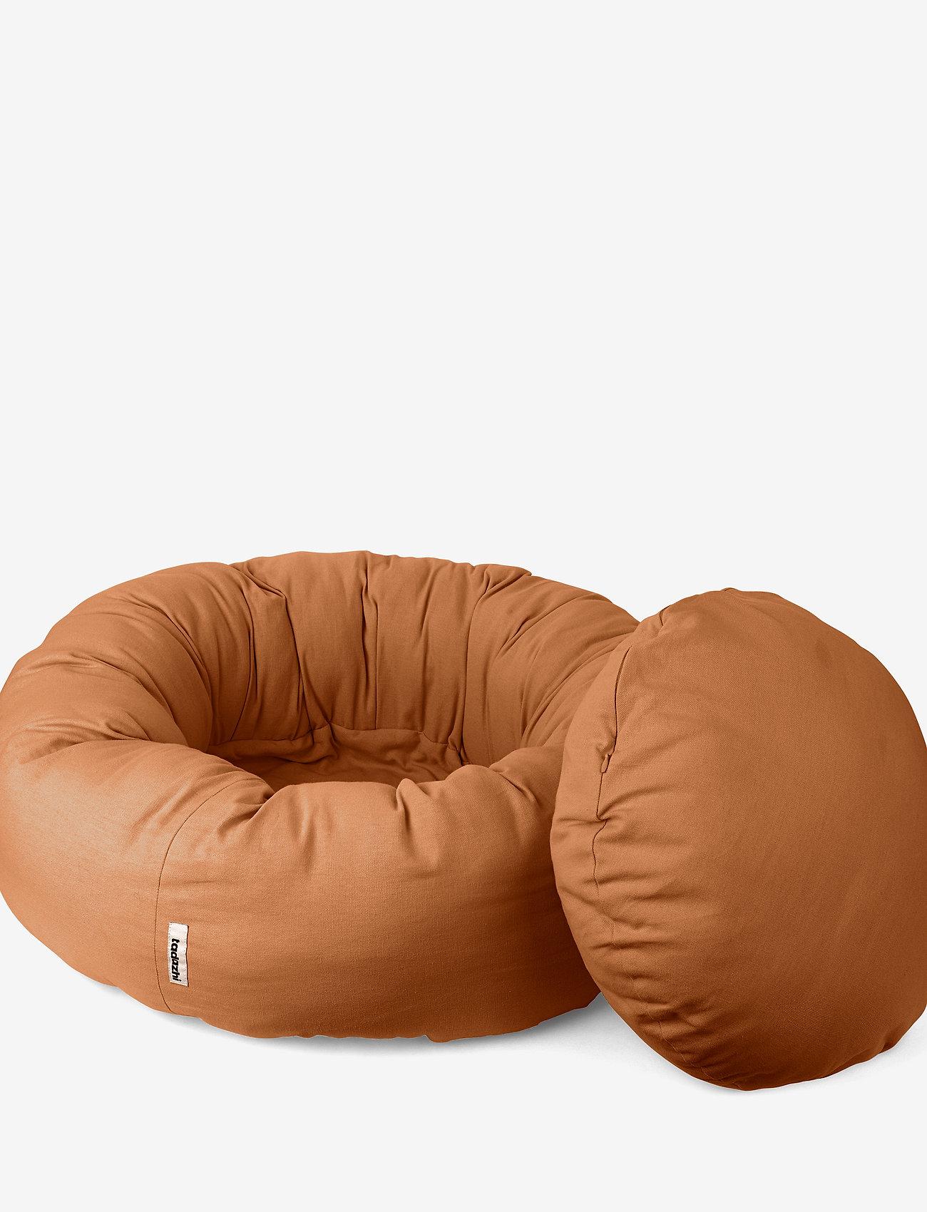 tadazhi - Donut bed - nyheder - light brown - 2